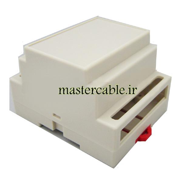 باکس ریلی استاندارد ماژولار الکترونیکی مدل ABR105-A10 با ابعاد 59×88×72