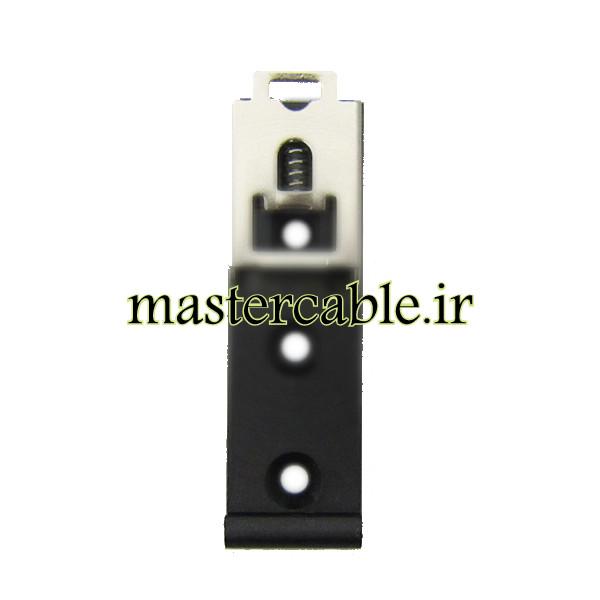 براکت الکترونیکی پلاستیکی-فلزی ریلی DRG06-G با ابعاد 18×60