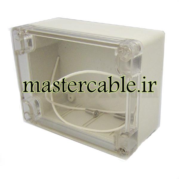 جعبه ضدآب شفاف تجهیزات الکترونیکی ABW203-A1T با ابعاد 55×90×115