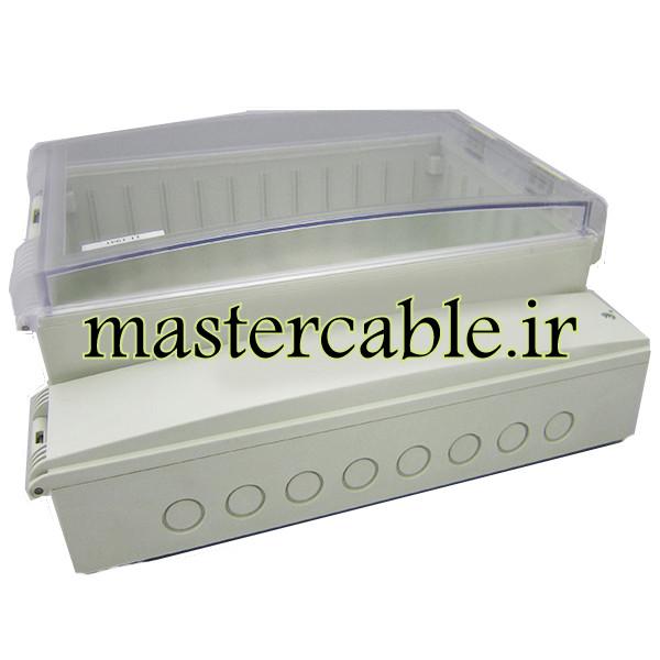 جعبه ضدآب گوشواره دار تجهیزات الکترونیکی 194-11 T با ابعاد 121×270×320