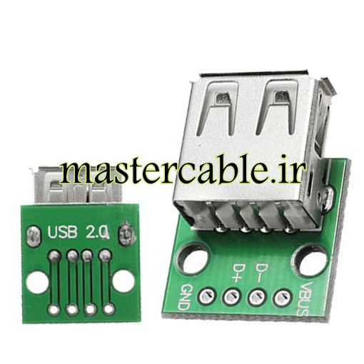 Usb Type A FEMALE to DIP