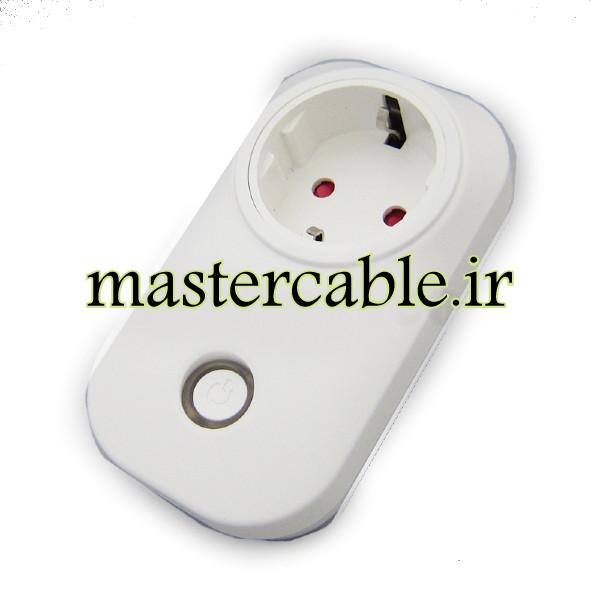 پریز تایمر وای فای خانه هوشمند Smart Plug 2 با ابعاد 53×62×109