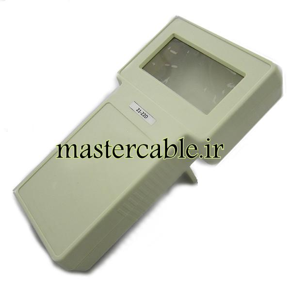 باکس دستی کنترلی نمایشگر 3.8 اینچ 22-21 White با ابعاد 43×130×236