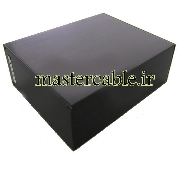 جعبه اکسترود آلومینیومی الکترونیکی ABL427-A2 با ابعاد 51×125×150