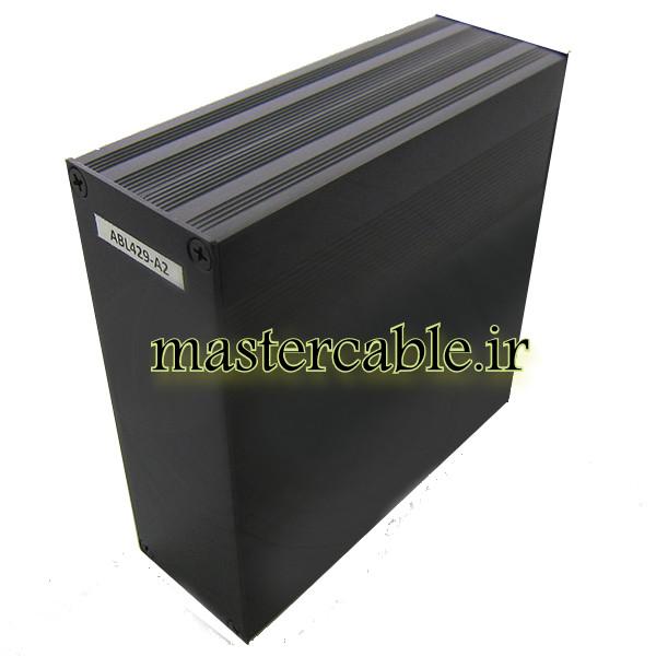 جعبه اکسترود آلومینیومی کنترلر ABL429-A2 با ابعاد 54×145×150