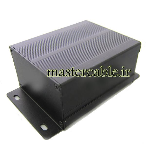 جعبه دیواری اکسترود آلومینیومی الکترونیکی ABL406-A2M با ابعاد 46×76×90