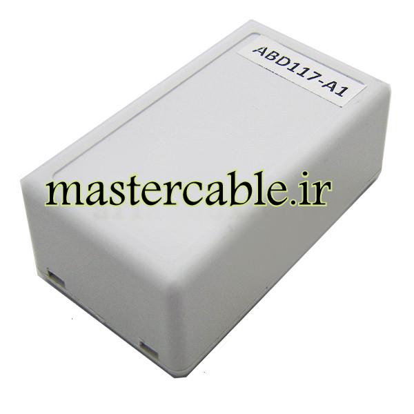 xباکس پلاستیکی الکترونیکی رومیزی مدل ABD117-A1 با ابعاد 23×41×71