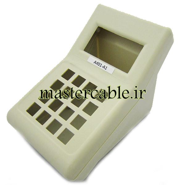 باکس پلاستیکی شیبدار/نمایشگردار رومیزی A401-A1 با ابعاد 52×100×168