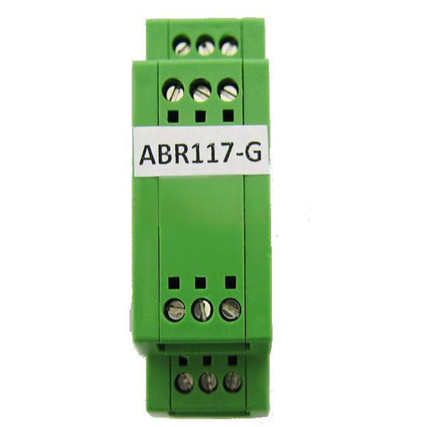 باکس توزیع الکترونیکی ریلی عمودی ABR117-G با ابعاد 25×80×95