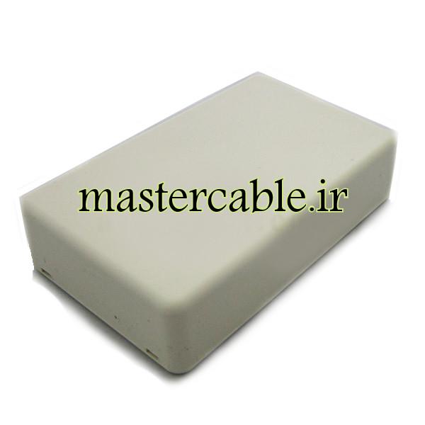 باکس پلاستیکی الکترونیکی رومیزی مدل ABD118-A1 با ابعاد 26×66×108