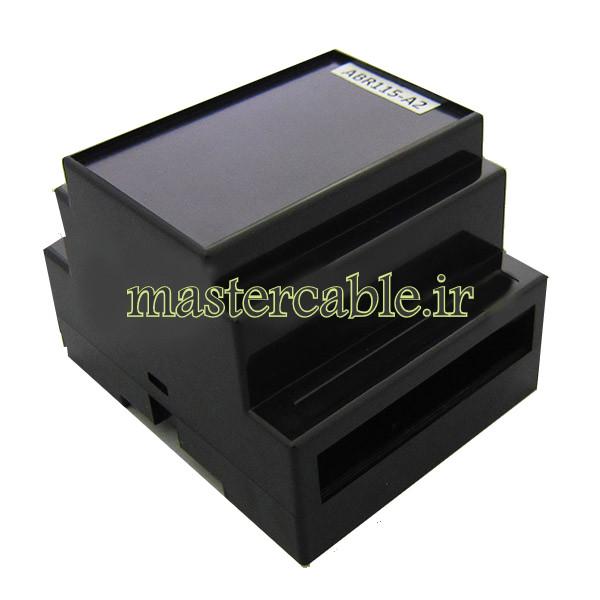باکس تجهیزات الکترونیکی ریلی ماژولار ABR105-A2 با ابعاد 59×88×72