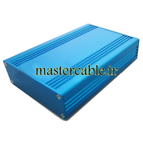 جعبه آلومینیومی محافظ تجهیزات الکترونیکی ABL409-B با ابعاد 28.8×82.8×120