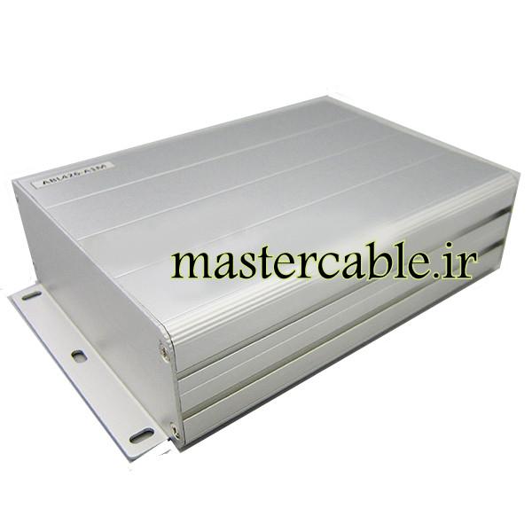 جعبه تجهیزات الکترونیکی آلومینیومی ABL426-A1M با ابعاد 45×122×160