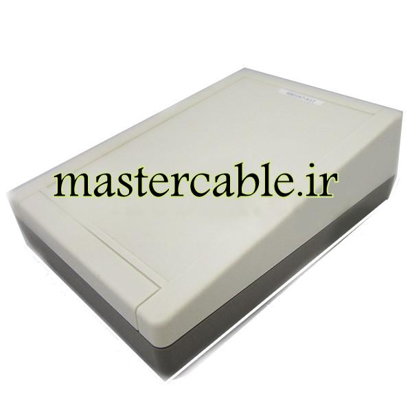 باکس پلاستیکی تجهیزات الکترونیکی شیبدار رومیزی ABD167-A12 با ابعاد 62×145×200