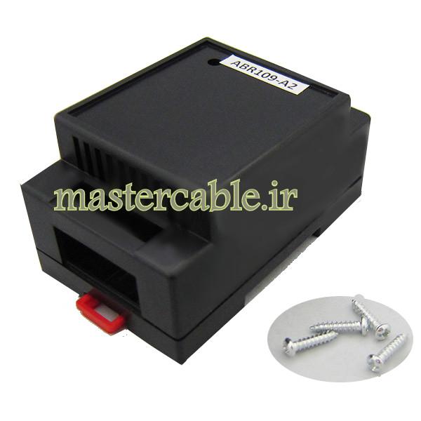 باکس تغذیه الکترونیکی ریلی ماژولار ABR109-A2 با ابعاد 44×55×88