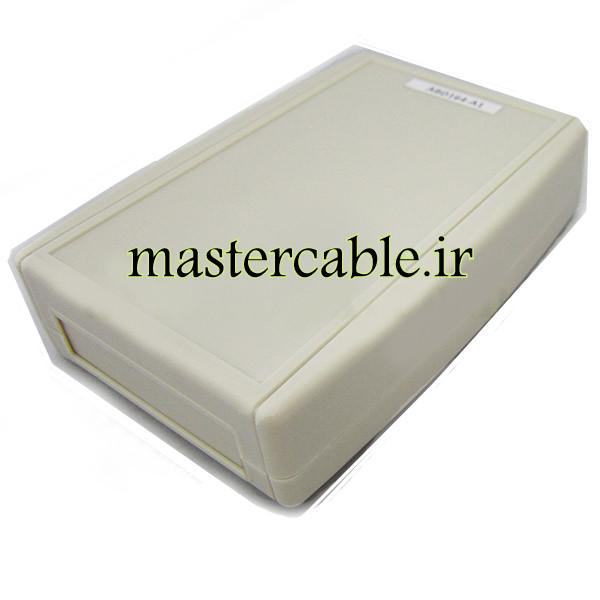 باکس پلاستیکی تجهیزات الکترونیکی شیبدار رومیزی ABD164-A1 با ابعاد 37×105×152