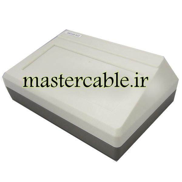 باکس پلاستیکی تجهیزات الکترونیکی شیبدار رومیزی ABD168-A12 با ابعاد 70×145×200