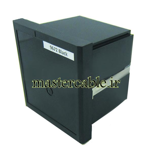 جعبه الکترونیک صنعتی دیجیتال پنل مدل 9672 Black با ابعاد 82×96×96