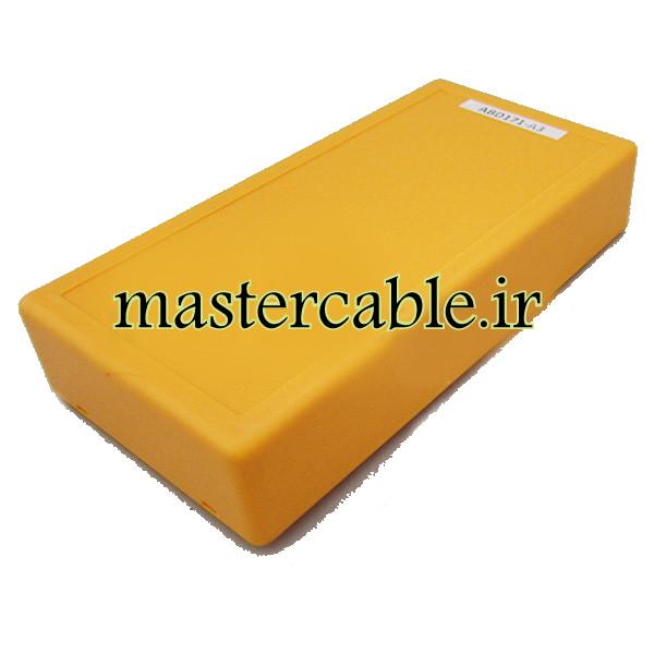 باکس پلاستیکی تجهیزات الکترونیکی رومیزی ABD171-A3 با ابعاد 30×75×150