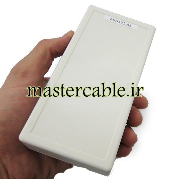 باکس پلاستیکی تجهیزات الکترونیکی رومیزی ABD171-A1 با ابعاد 30×75×150