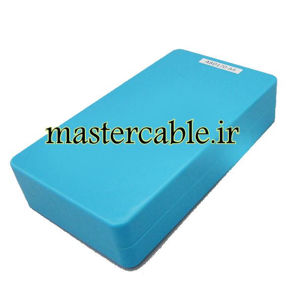باکس پلاستیکی تجهیزات الکترونیکی رومیزی ABD170-A4 با ابعاد 30×82×144