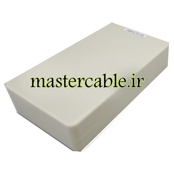 باکس پلاستیکی تجهیزات الکترونیکی رومیزی ABD170-A1 با ابعاد 30×82×144