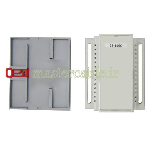 باکس الکترونیکی ریلی ماژولار 23-156C با ابعاد 63×88×107