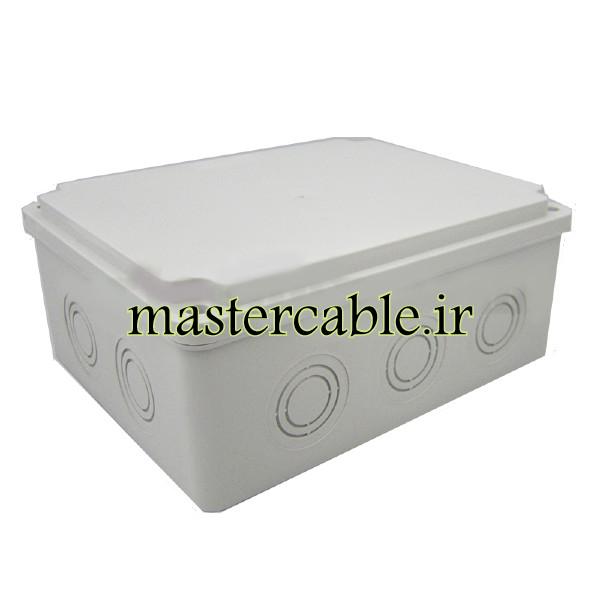 جعبه تقسیم ضدآب الکترونیکی 12 سوراخ AGT 20-20 با ابعاد 85×210×210