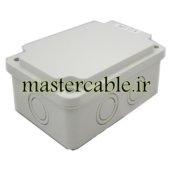جعبه تقسیم ضدآب الکترونیکی AGT 12-8 با ابعاد 85×160×160