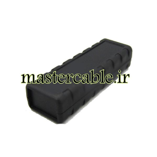 باکس پلاستیکی تجهیزات الکترونیکی رومیزی مدل ABD135-A2 با ابعاد 25.8×38×114