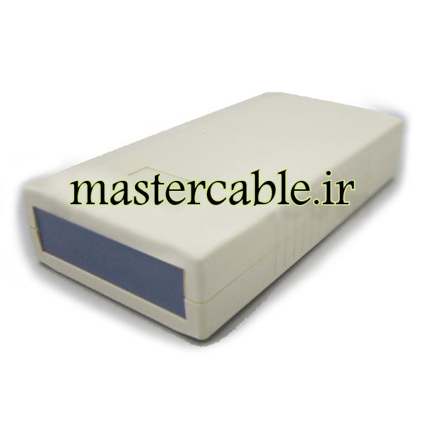 باکس پلاستیکی الکترونیکی دستی/رومیزی مدل ABD121-A1 با ابعاد 30×60×120