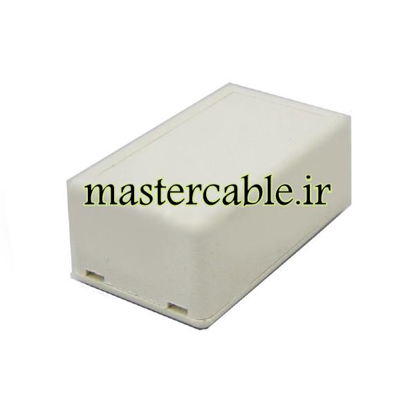باکس پلاستیکی الکترونیکی رومیزی مدل ABD115-A1 با ابعاد 25×36×61