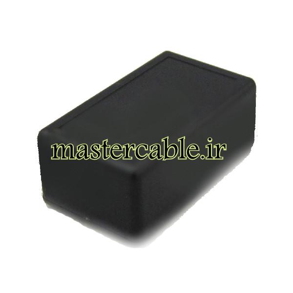 باکس پلاستیکی الکترونیکی رومیزی مدل ABD115-A2 با ابعاد 25×36×61