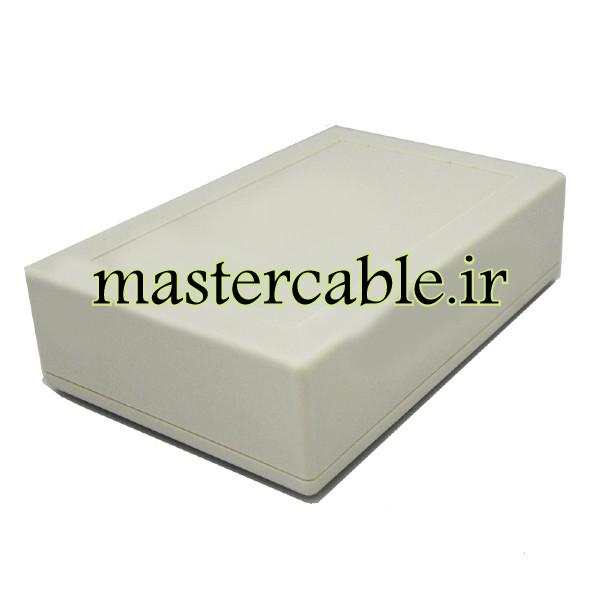باکس پلاستیکی تجهیزات الکترونیکی رومیزی مدل ABD111-A1 با ابعاد 36×91×138
