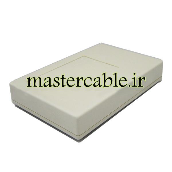 باکس پلاستیکی تجهیزات الکترونیکی رومیزی مدل ABD112-A1 با ابعاد 25×91×138