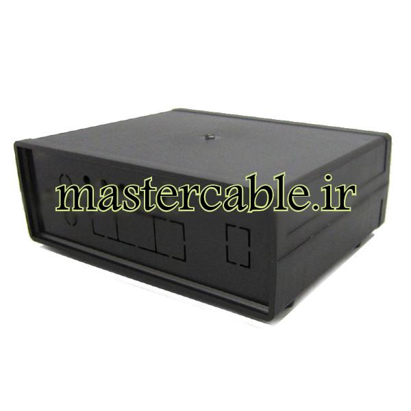 باکس پلاستیکی تجهیزات الکترونیکی رومیزی ABD162-A2 با ابعاد 57×130×170
