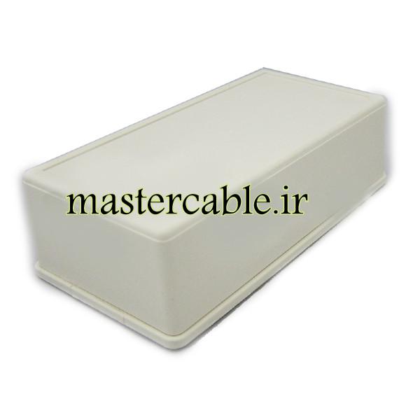 باکس پلاستیکی تجهیزات الکترونیکی رومیزی مدل ABD132-A1 با ابعاد 45×80×155