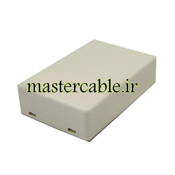 باکس پلاستیکی الکترونیکی رومیزی مدل ABD119-A1 با ابعاد 18×45×70