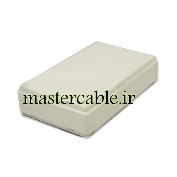 باکس پلاستیکی الکترونیکی رومیزی مدل ABD120-A1 با ابعاد 17×41×70