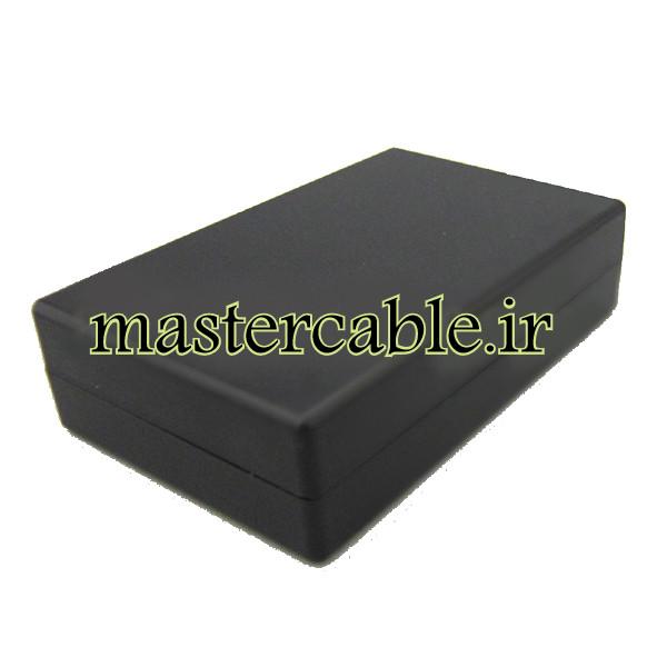 باکس پلاستیکی تجهیزات الکترونیکی رومیزی مدل ABD110-A2 با ابعاد 32×80×125