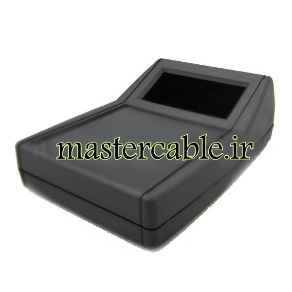 باکس پلاستیکی شیبدار/نمایشگردار رومیزی B300-A2 با ابعاد 54×108×151