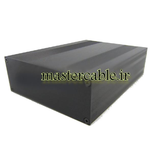 جعبه اکسترود آلومینیومی برق ABL430-A2 با ابعاد 54×145×200