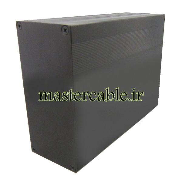 جعبه پروفیل اکسترود آلومینیومی ABL432-A2 با ابعاد 68×145×200