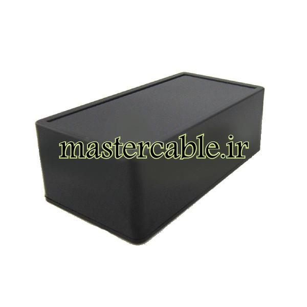باکس الکترونیکی پلاستیکی رومیزی ABD157-A2 با ابعاد 44×67×130