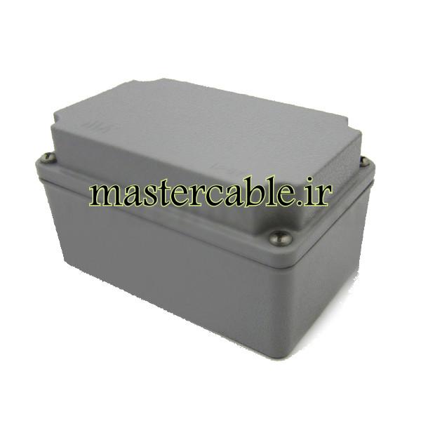 جعبه ضدآب الکترونیکی آلومینیوم دایکست AW610-A1 با ابعاد 73×80×130