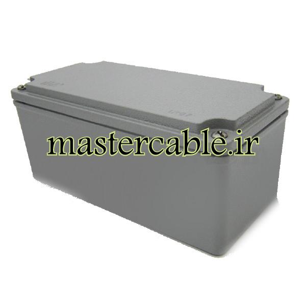 جعبه ضدآب فلزی آلومینیوم دایکست AW609-A1 با ابعاد 73×80×170
