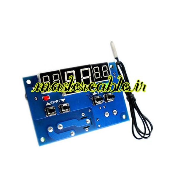 ماژول کنترلر دما با نمایشگر W1401 12V/10A